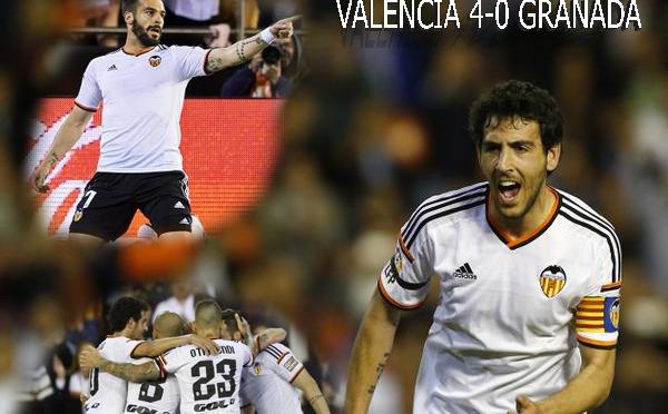 Goleada por la Champions (VALENCIA 4-0 GRANADA)