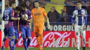 Levante 2-2 Espanyol: ?El Levante tiró de casta para empatar.?