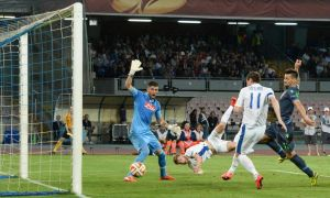 El gol valioso de Seleznyov.  Ansa