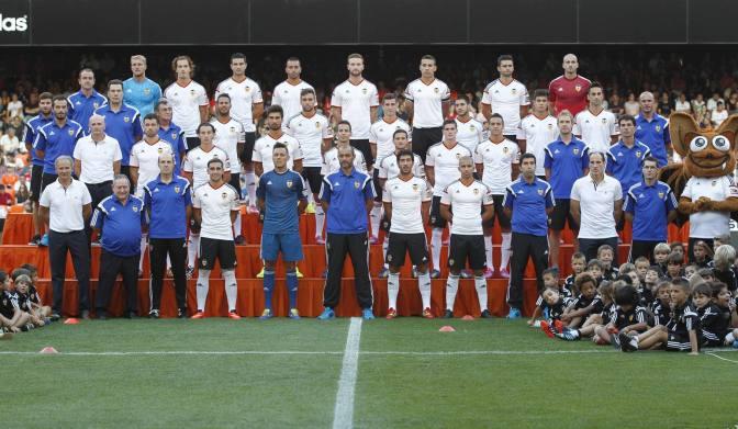 El Valencia se presenta ante su aficion el 8 de agosto en Mestalla ante la Roma