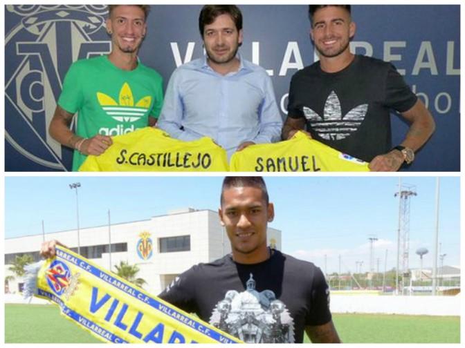 3 nuevas incorporaciones para el Villarreal