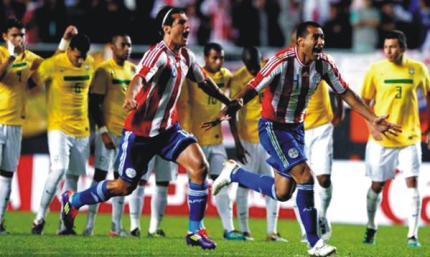 paraguay vs brasil 2015