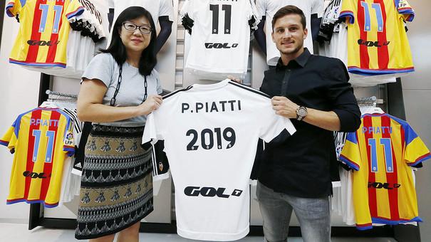 Piatti renueva hasta 2019