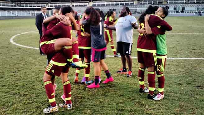 Las chicas de la Vinotinto sub 20 al Mundial.