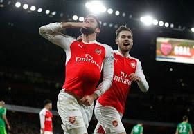 Arsenal 3-1 Sunderland: Golpe de autoridad con lo puesto