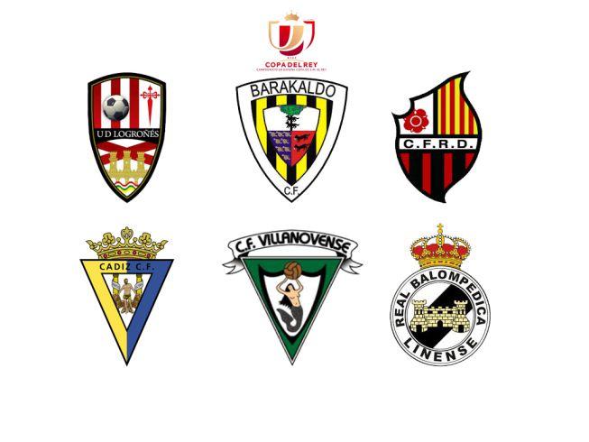 Dieciseisavos de final Copa del Rey 2ªB