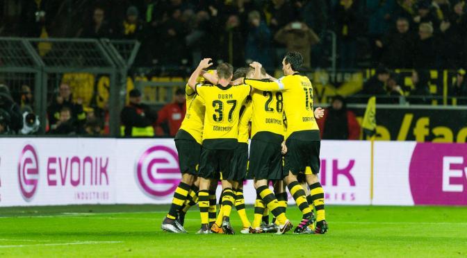 Bundesliga: El Dortmund gana de la mano de Aubameyang.