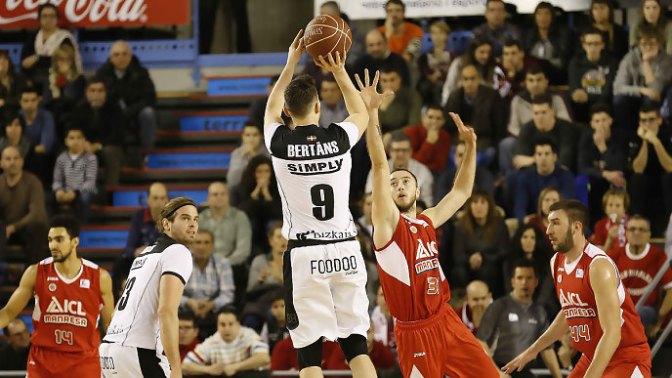 Jornada 16 Liga Endesa: ICL Manresa 67 – Dominion Bilbao Basket 72