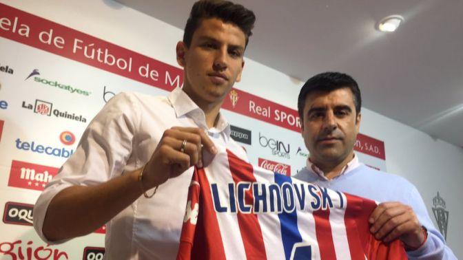 Igor Lichnovsky nuevo fichaje del Sporting de Gijón