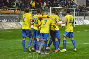 Imagen de la página oficial del Cádiz CF