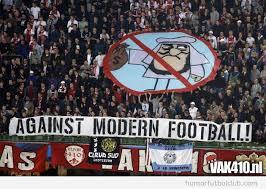 contra el futbol moderno