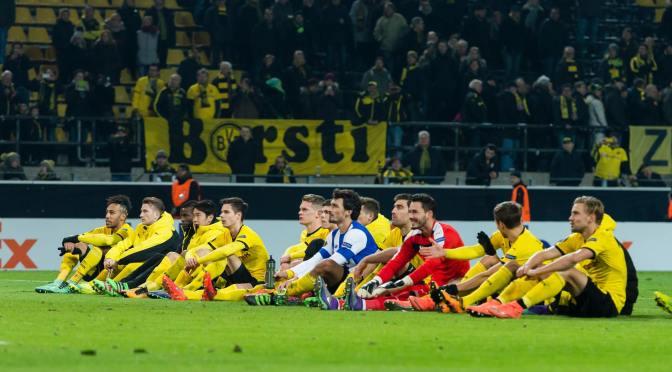 El Dortmund se adelanta en la serie frente a Porto.