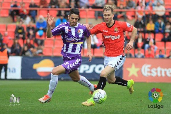 Nastic 1-1 Valladolid: Hay que mejorar fuera de Zorrilla