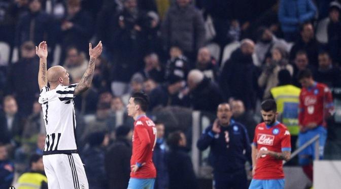 La Juventus nuevo líder de la Serie A
