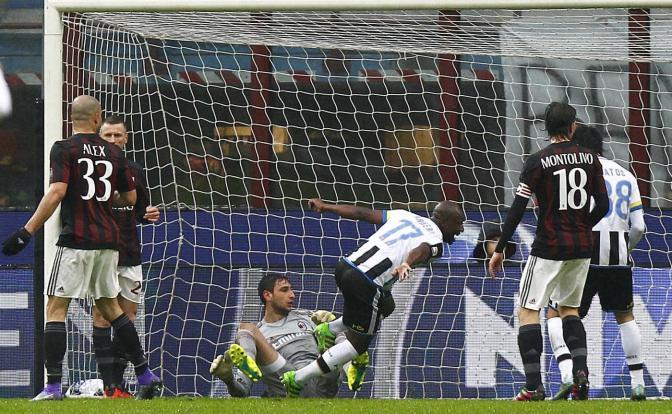 El Udinese y la mala suerte frenaron al Milan