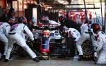 Esteban Gutierrez (MEX) Haas Pit Stop