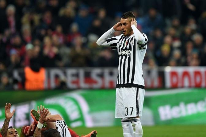 La Juventus nadó y nadó, pero murió en la orilla