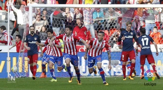 """Real Sporting 2-1 Atlético de Madrid: """"Gijón quiere seguir en Primera"""""""
