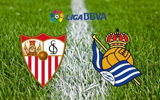 Sevilla(1)-Real Sociedad(2): Fin a una magnífica racha.